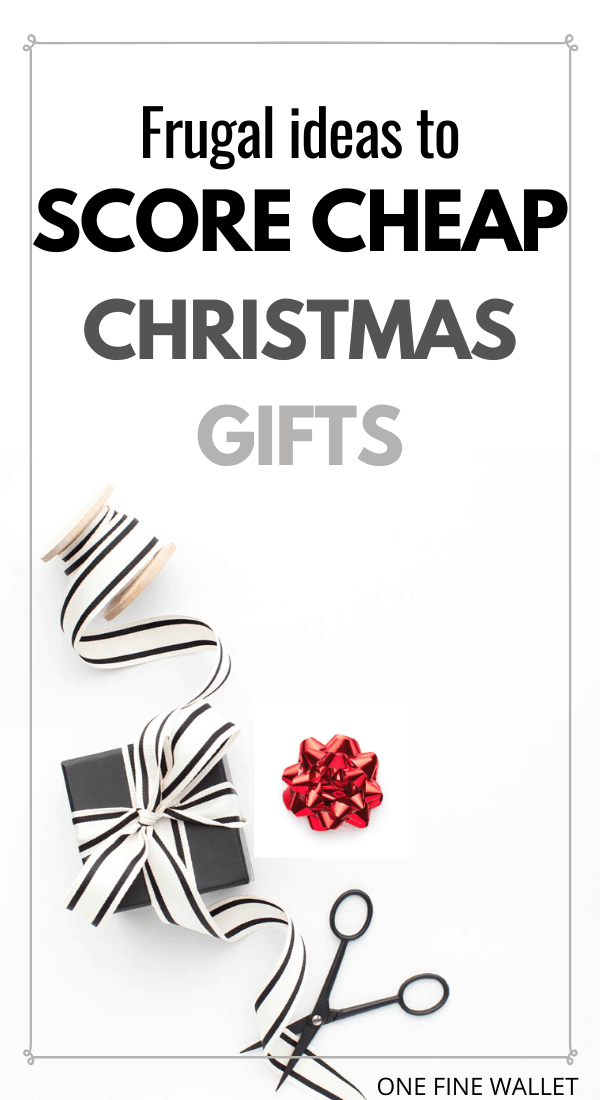 Get Cheap christmas gifts with these smart frugal ideas