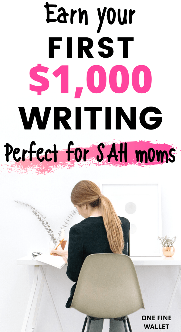 Make money from home with a freelance writing business. Great for moms looking to earn an extra income freelance writing