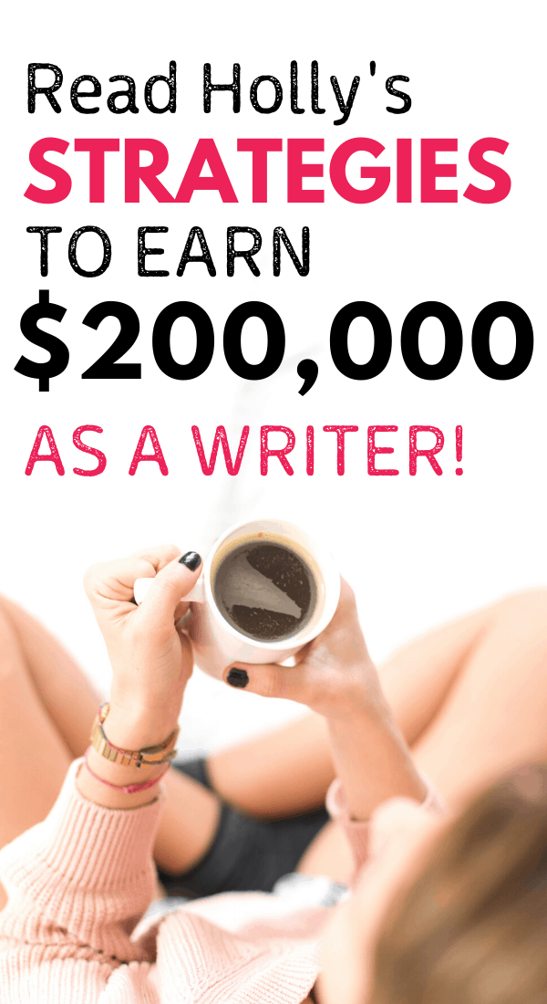 Make money as a freelance writer. Learn how this blogger and freelance writer makes over $200,000 a year with freelance writing jobs