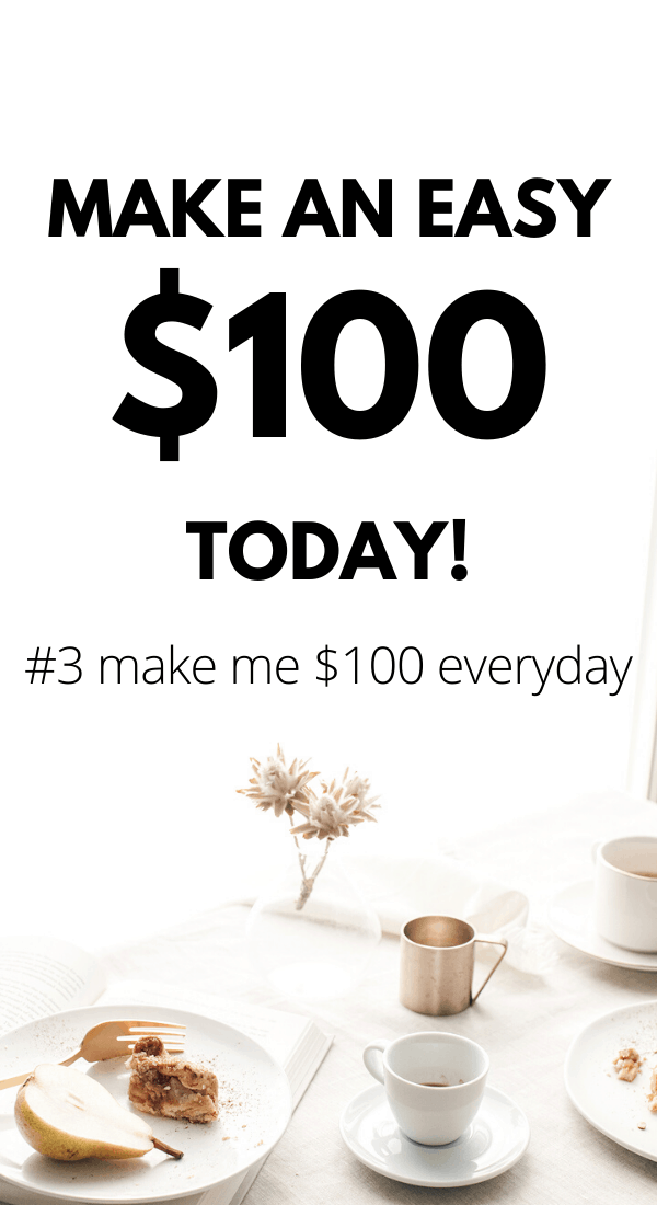 Make 100 dollars a day with these 20 legit ideas. They are all fully flexible and work well for stay at home moms