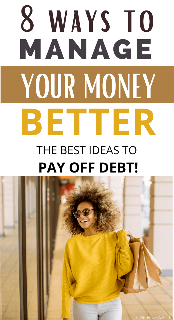 Money management tips and personal finance to help you pay off debt. Get rid of debt now!