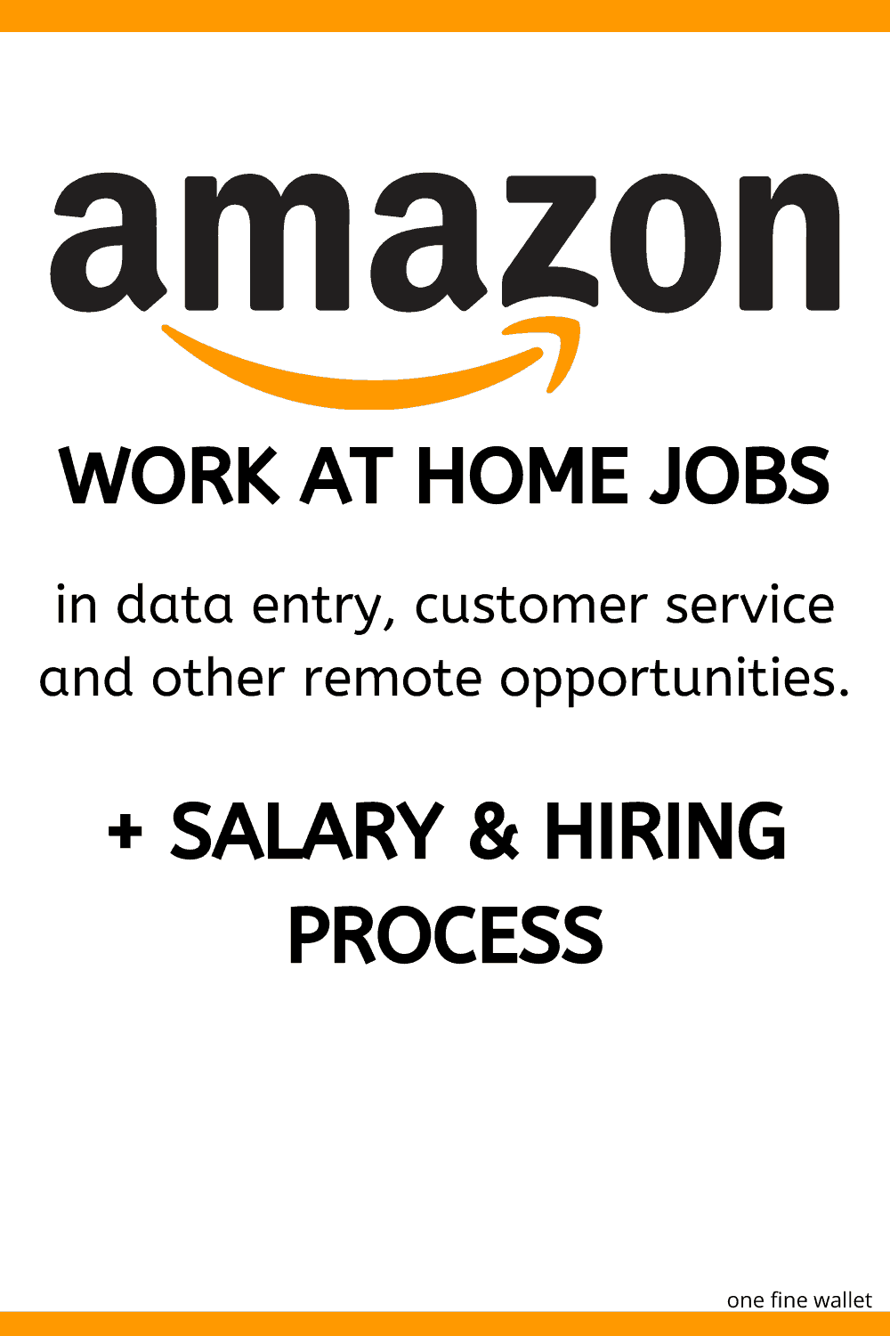 Amazon work from home jobs can give you the freedom to work from home with this big company. From data entry to customer service, there are many roles available.