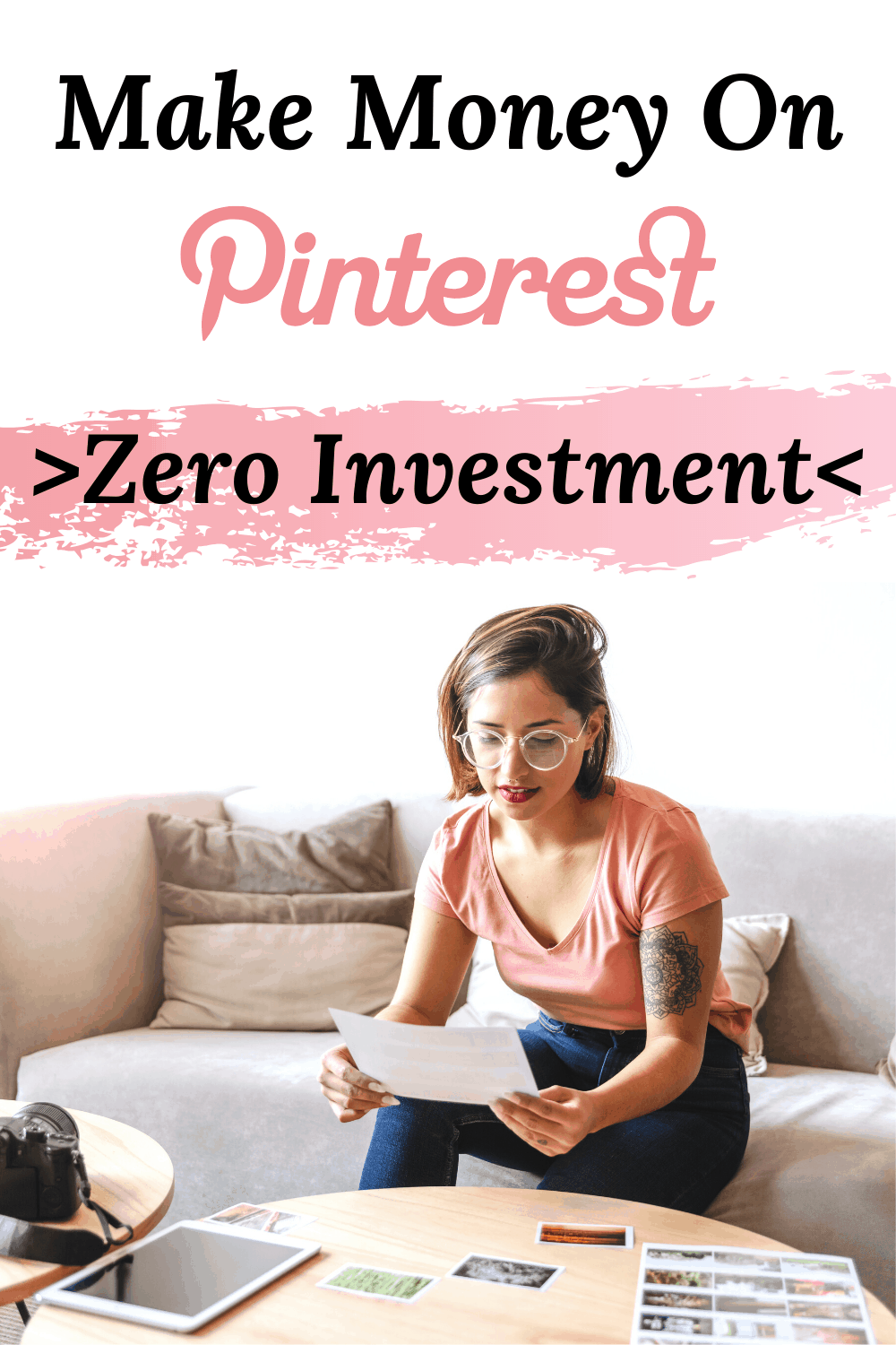 Make money on Pinterest with affiliate marketing. Learn how to use affiliate links to make money with or without a blog. Make money online