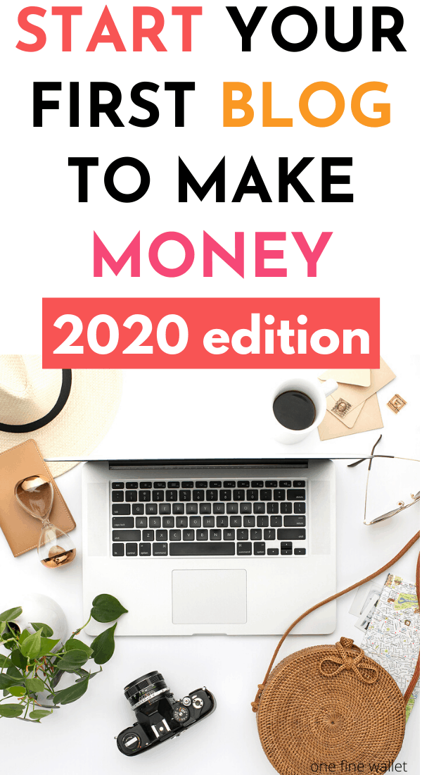 Blogging for beginners. Learn how to start a blog and make money blogging in 2020