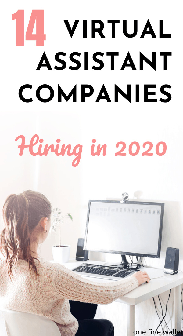 Ready to provide virtual assistant services? Here are over 14 virtual assistant jobs that are hiring in 2020. Learn how you can also become a fully trained virtual assistant to make money online.