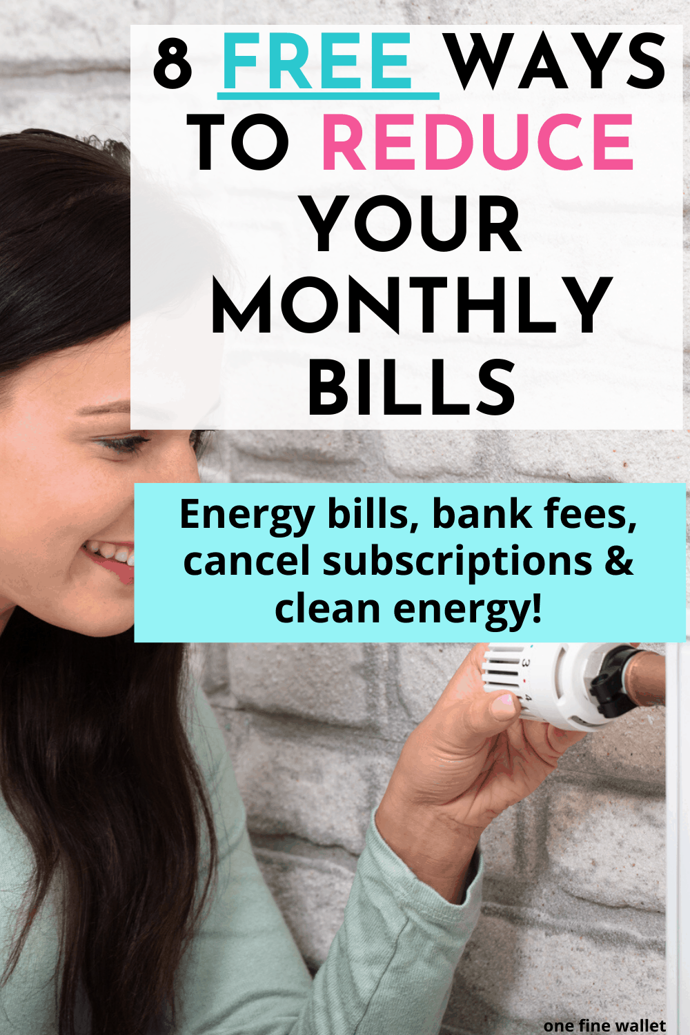 Smart frugal tips to save money on monthly electricity bills. Money saving tips and low waste living ideas inside!
