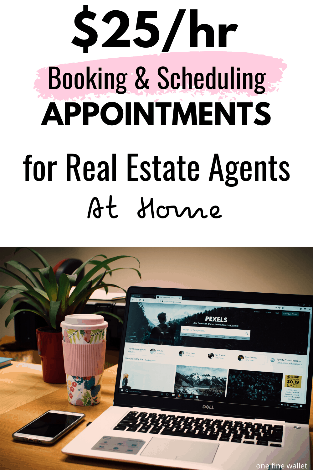 Work at home as a real estate virtual assistant book and scheduling appointments. Make money online up to $25 an hour with this side hustle