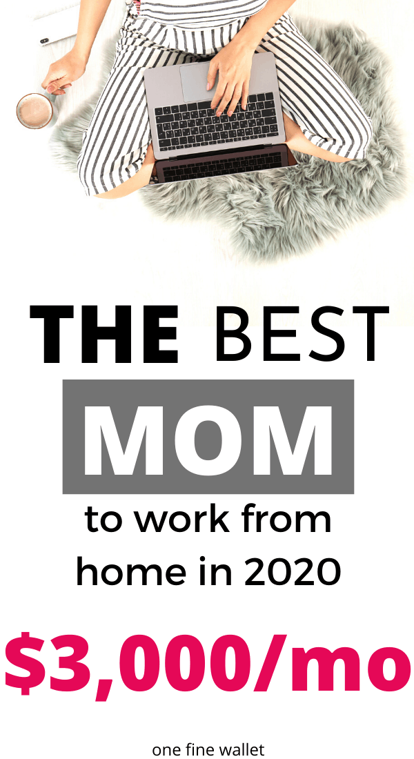 Looking for flexible jobs to suit your busy life? Here are the best stay at home mom jobs to try in 2020. Make money from home or make money online with these side hustles that require no experience