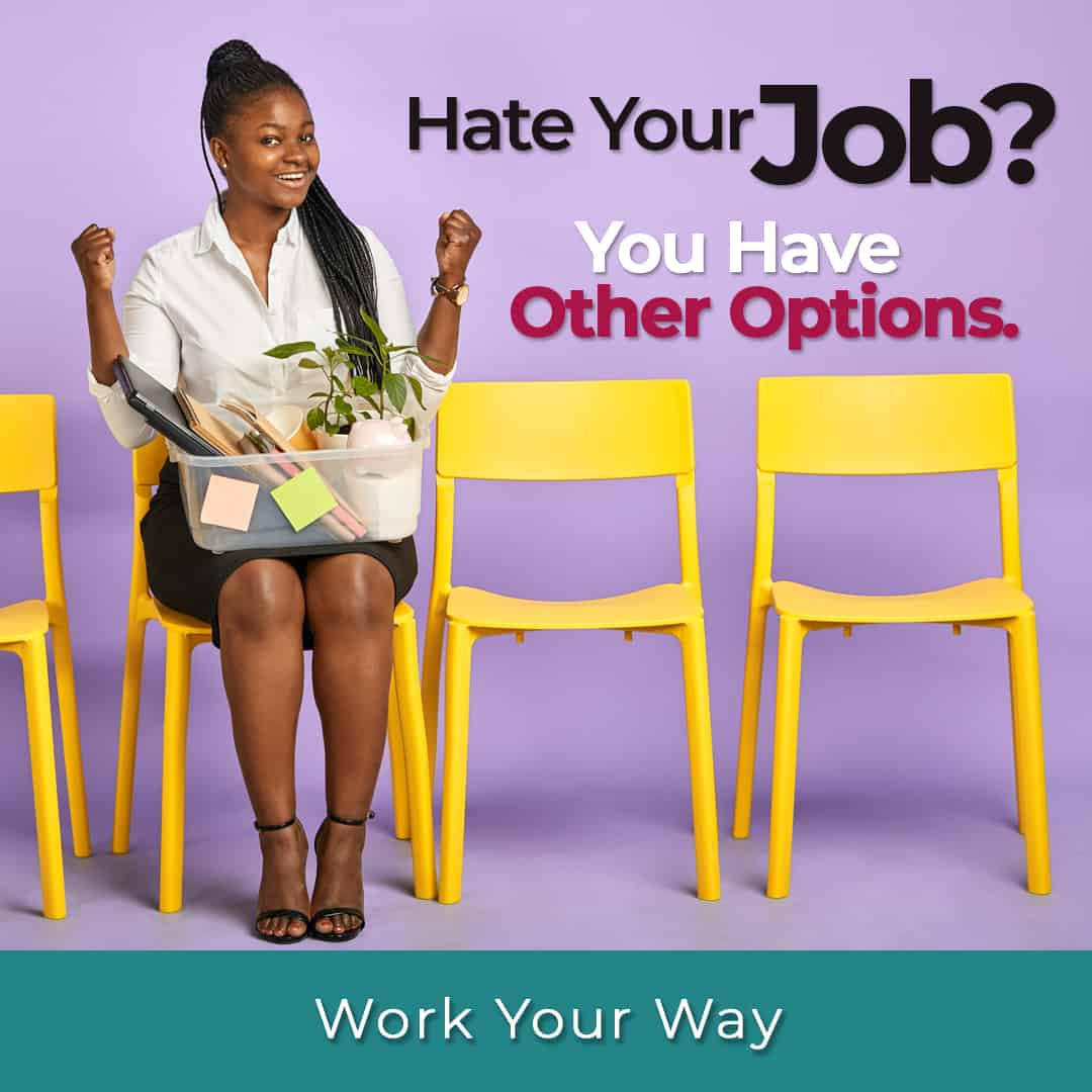 earn money online when you hate your job