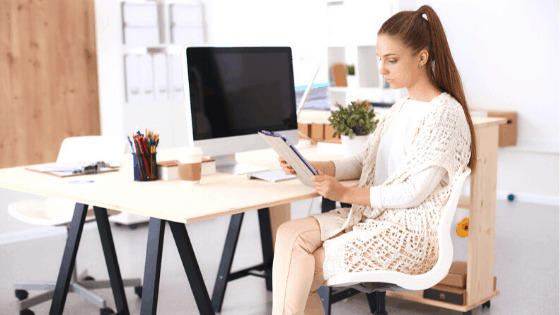 Work-at-home school Caitlin Pyle