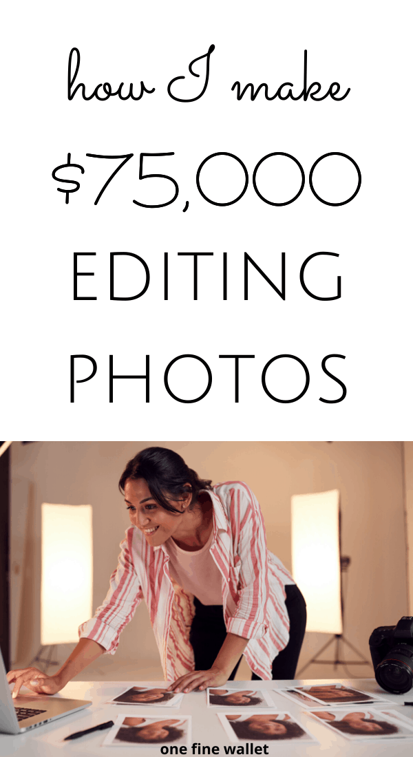 How to make money from home with online photo editing jobs. Check out how you can earn up to $100 an hour without experience