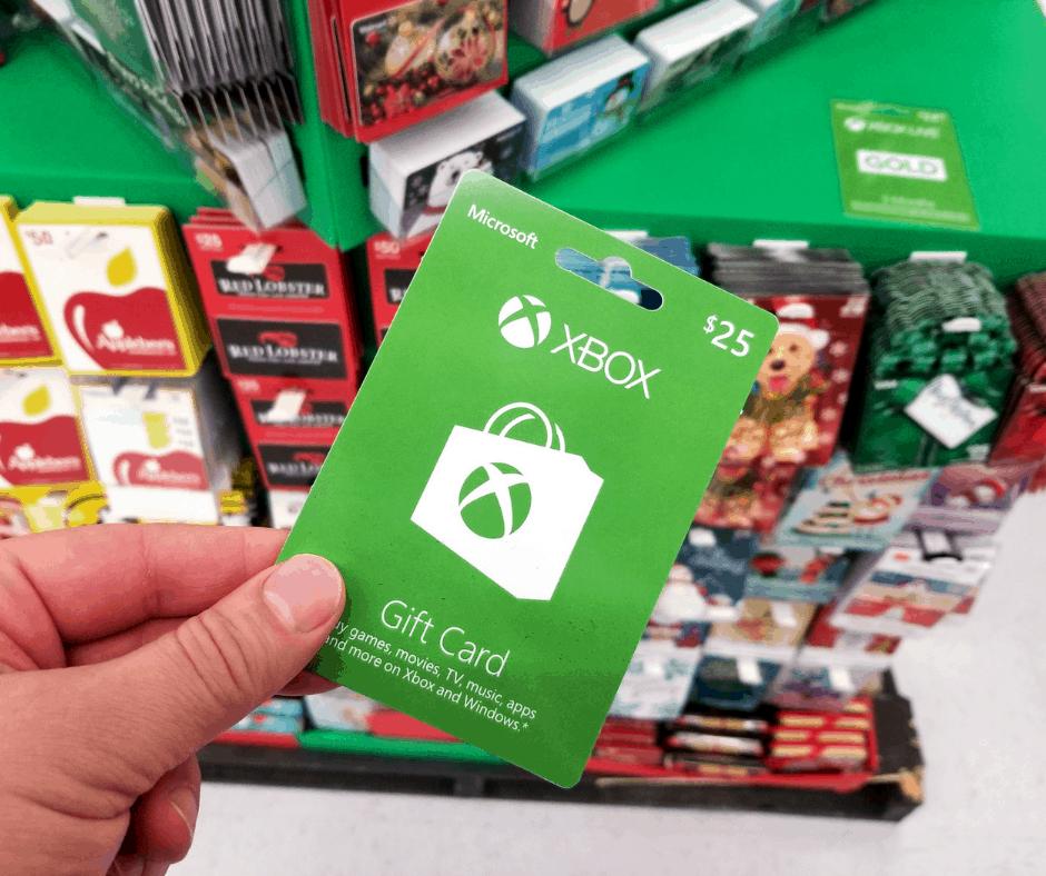 Microsoft Xbox gift card free