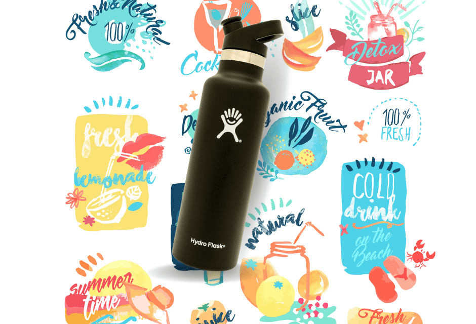 55 Hydro Flask Stickers for Free!